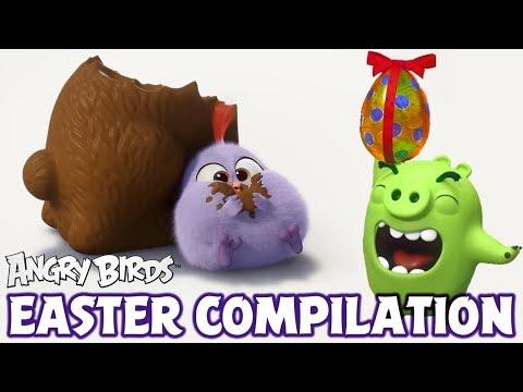 Angry Birds - Scény k velikonocím