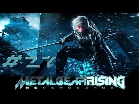 [HD] Metal Gear Rising Revengeance Part 27 (no commentary)