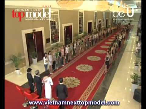 Vietnam's Next Top Model 2012 Tập 1 Full 19/8/2012