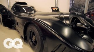 The Batmobile and Comedian Jeff Dunham's Private Garage - GQ's Car Collectors - Los Angeles