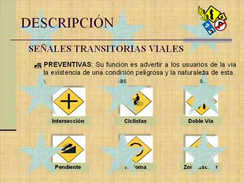 Señales de Transito - EscueladeManejo.net