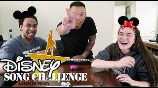 Disney Song Challenge - Hamilton vs Peggy   AJ Rafael