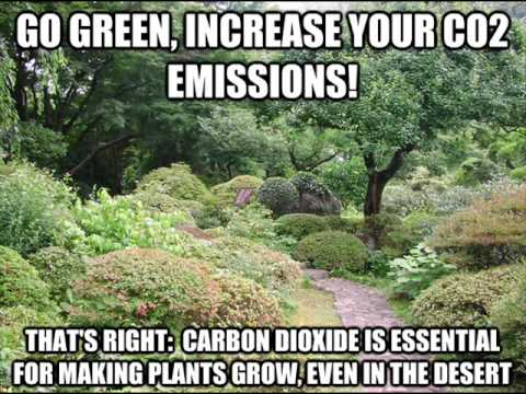 Go Green, Increase Your CO2 Emissions