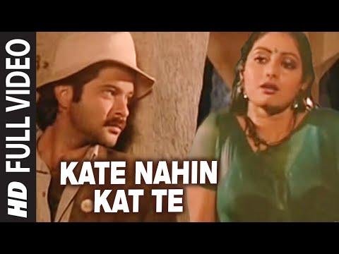 Kate Nahin Kat Te [Full Song]   Mr. India   Anil Kapoor, Sridevi