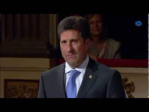 José María Olazábal recibe el Premio Príncipe de Asturias del Deporte