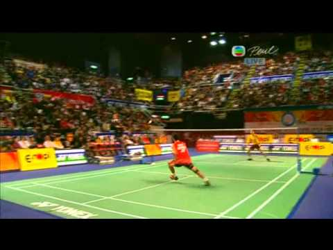 Yonex Sunrise Hong Kong Open Super Series 2010 MS Final Lee Chong Wei vs Taufik Hidayat 3/4