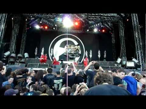 Slipknot live at Sonisphere Switzerland 2011 (HD)