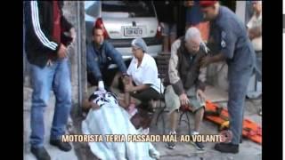 Acidente deixa quatro feridos na capital
