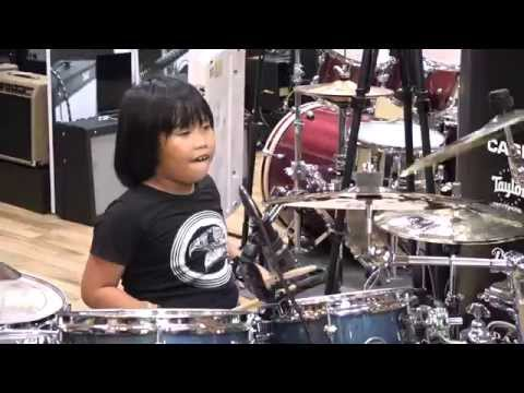 Nối Vòng Tay Lớn - Drum Cover By Nguyễn Trọng Nhân - Rock Version