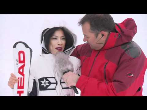 Vanessa Mae: why she loves Zermatt - live from Trockener Steg Zermatt
