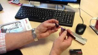 Пишущий элемент Rotring для рапидографа 0.10мм пластик S0218960