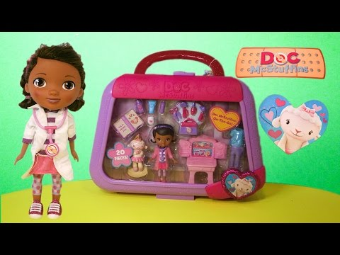 DOC MCSTUFFINS Disney Jr Doc McStuffins On the Go Lambie Doc McStuffins YouTube Video Review