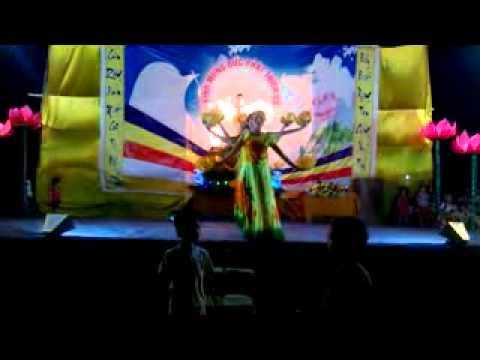 múa quạt Phụ nữ Tân Hóa, Quỳnh Hội, Quỳnh Phụ, Thái Bình duyên dáng