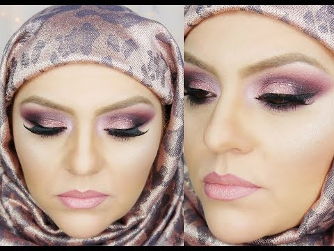 Maquillaje Arabe Ahumado Con Brillo   Extras