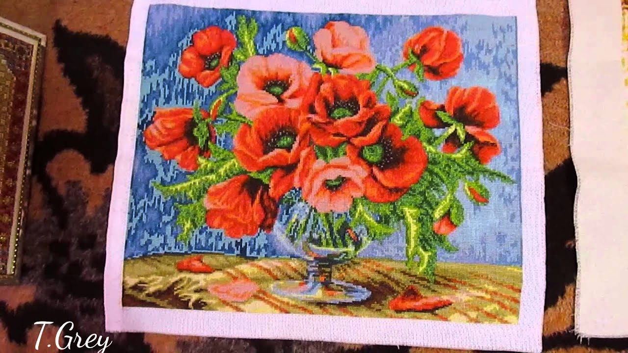 Картины вышивание нитками