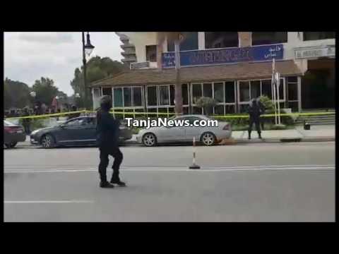اللقطات الأولى لعملية توقيف إرهابي خطير بمنطقة مالاباطا بطنجة