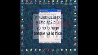 Windows Xp Sp1 A Sp2 O Sp3 Rapido Y Facil