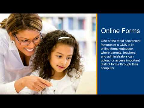 Improving school efficiency with an easy-to-use content management system