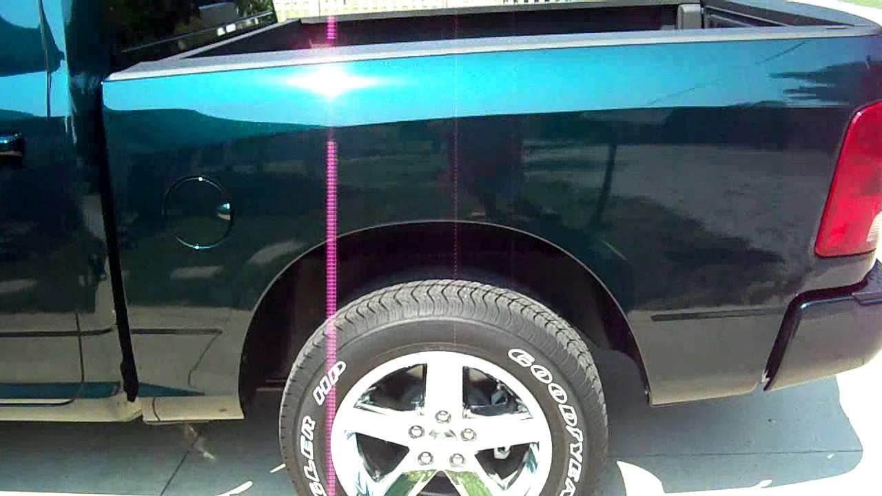 2011 Dodge Ram Sport Hunter Green Pearl Youtube