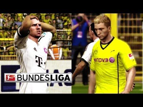 FIFA 14 Prediction with EA Sports - Borussia Dortmund vs. Bayern Munich