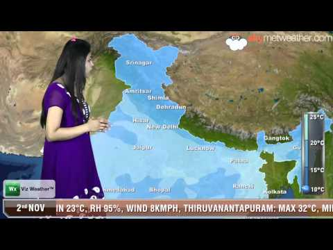 02/11/13 - Skymet Weather Report for India