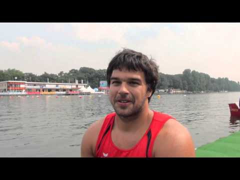 Mendy Swoboda Winner K1 Men 200m Paracanoe TA