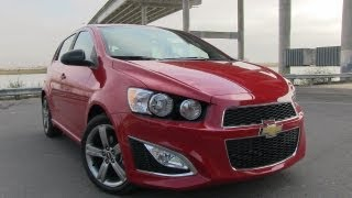 2013 Chevrolet Sonic RS First Drive Review & 0-60 MPH Test