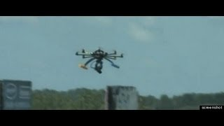 Drone hits crowd during a bull run festival in WV AM news brifing rant