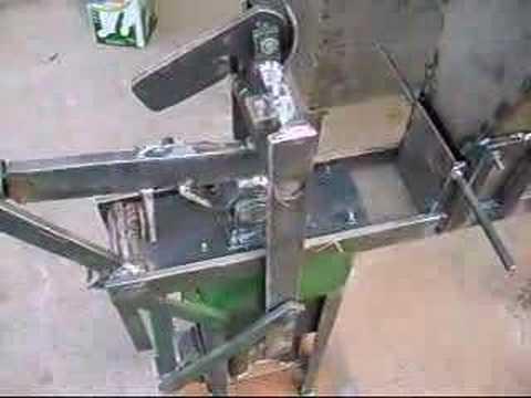 Prensa m quina para fabricar tijolos ecol gicos youtube Construir una pileta de ladrillos