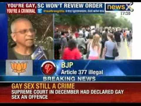 Supreme Court dismisses review petitions filed by centre and Gay rights - NewsX
