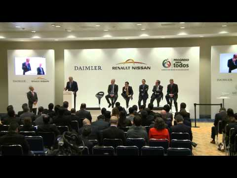 Renault-Nissan and Daimler AG plant Boosts Automotive Manufacturing in Mexico