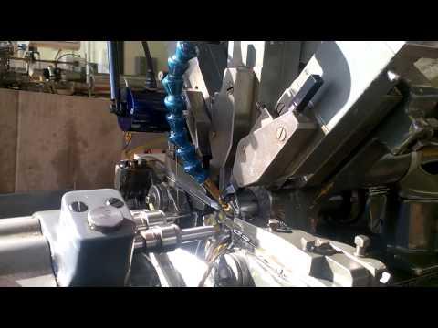 An old decolletage CNC machine