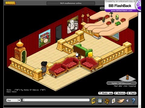 Habbo Room Making, Make A good rom whit This Video