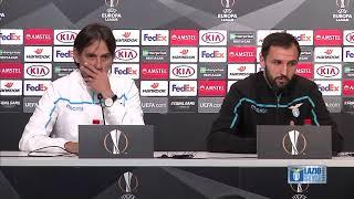 La conferenza stampa di Milan Badelj alla vigilia di Sevilla-Lazio