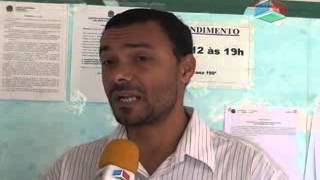 Justiça eleitoral de Nanuque fez apreenção de material político.