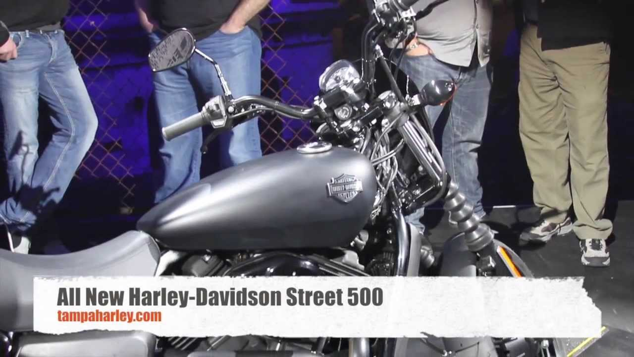 New 2015 Harley Davidson Street 500 Water Cooled Motorcycle new model