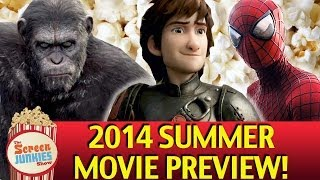 Top 10 Summer Movies 2014