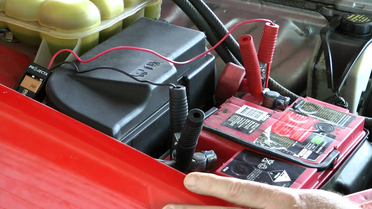 Changing a car battery without losing radio code