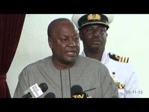 President John Mahama on accountability & attacks.