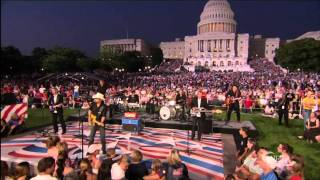 Brad Paisley - Then - National Memorial Day Concert 2010 HD