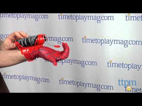 Marvel The Amazing Spider-Man 2 Mega Blaster Web Shooter with Glove from Hasbro