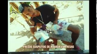 Trio � preso suspeito de integrar quadrilha de roubo de empresas na Grande BH