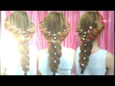 Bridal Hairstyles - Các Kiểu Tết Tóc Cô Dâu Đẹp Như Thiên Thần