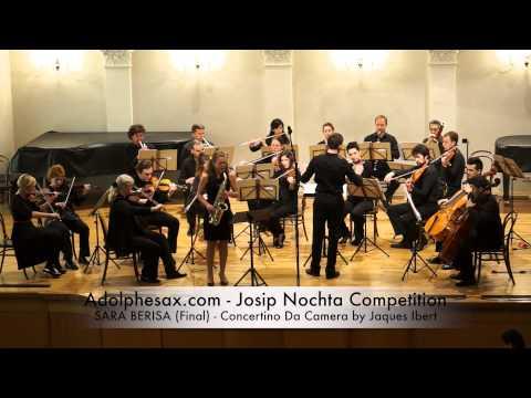 Josip Nochta Competition SARA BERISA Final Concertino Da Camera by Jaques Ibert