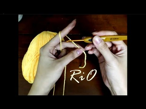 [Crochet] Hướng dẫn móc len căn bản: cách cầm và chọn cỡ kim phù hợp cỡ len