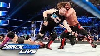 Kevin Owens vs. AJ Styles vs. Chris Jericho — U.S. Title Match: SmackDown LIVE, July 25, 2017