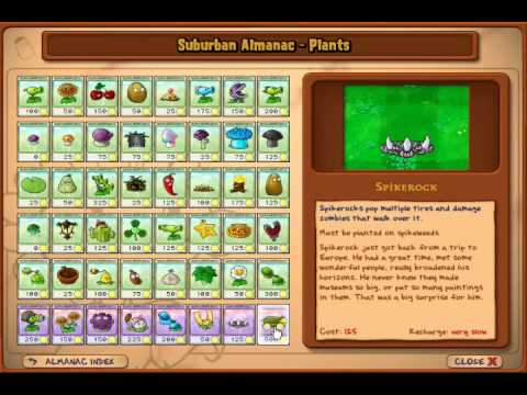 Todas las plantas plants vs zombies - Imagui