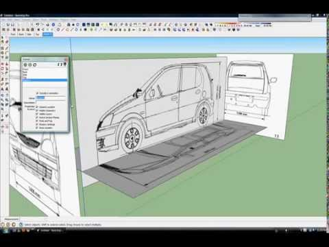 do a car in 3d part 2 google sketchup tutorial how to do a car in 3d ...