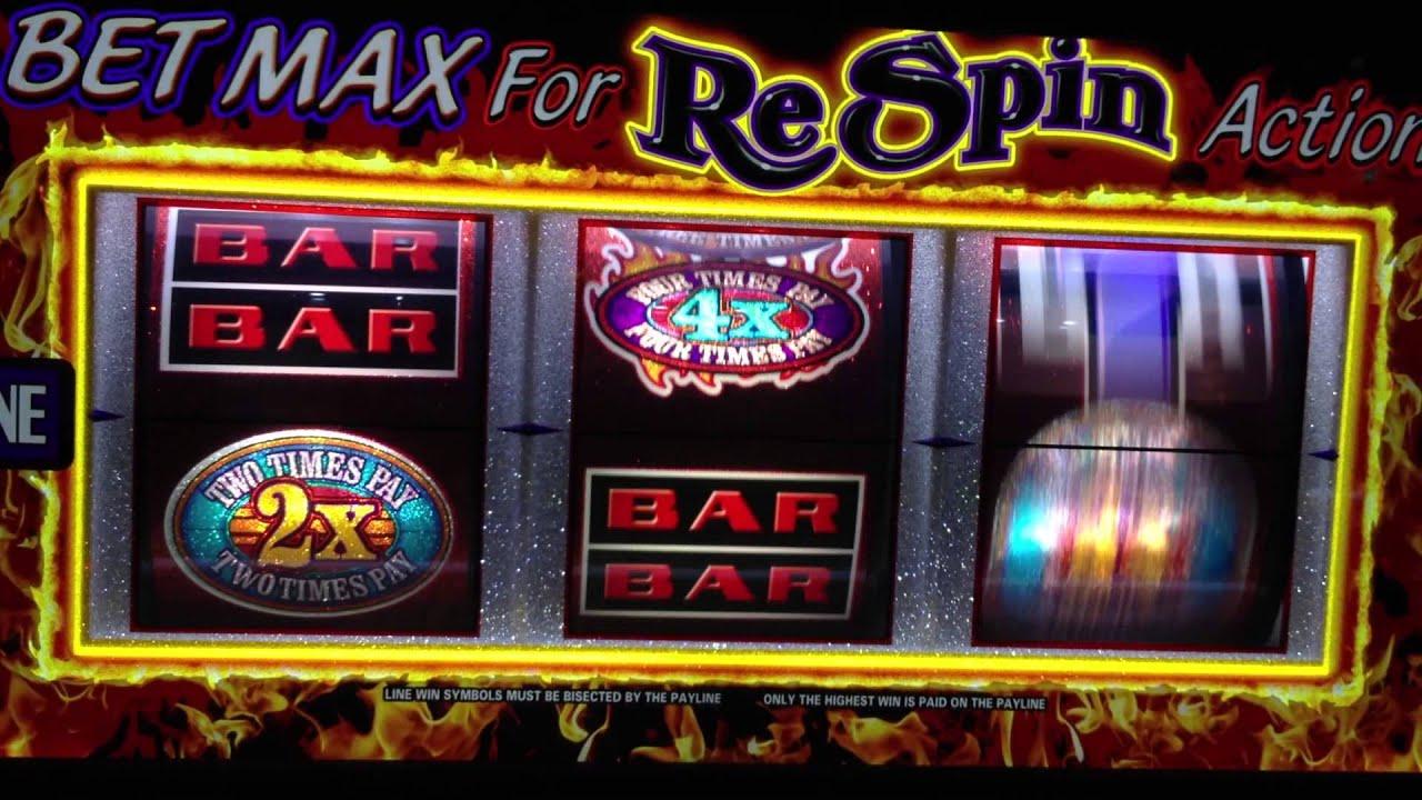 respin slot machine