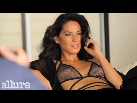 Olivia Munn's Allure Cover Shoot May 2014